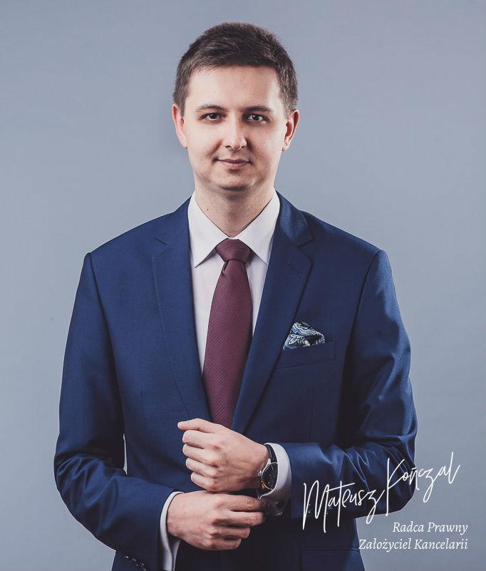 Mateusz Kończal - radca prawny w Toruniu